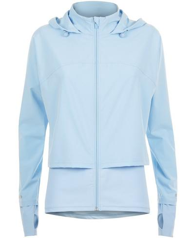 Fast Track Run Jacket, Infinity Blue | Sweaty Betty