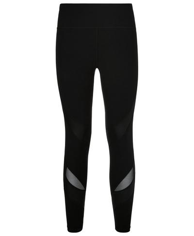 Power Wetlook Mesh 7/8 Leggings, Black | Sweaty Betty