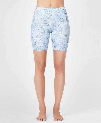 Contour Workout Shorts, Infinity Blue Magic Circle | Sweaty Betty