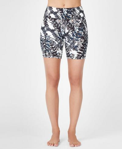 Contour Workout Shorts, Mystical Garden Print | Sweaty Betty