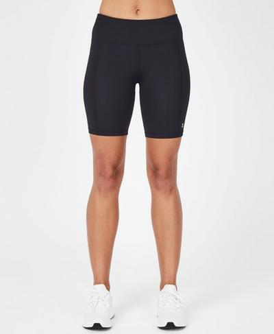 Contour Workout Shorts, Black | Sweaty Betty