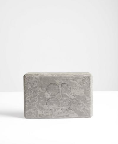 Yoga Block, Grey | Sweaty Betty