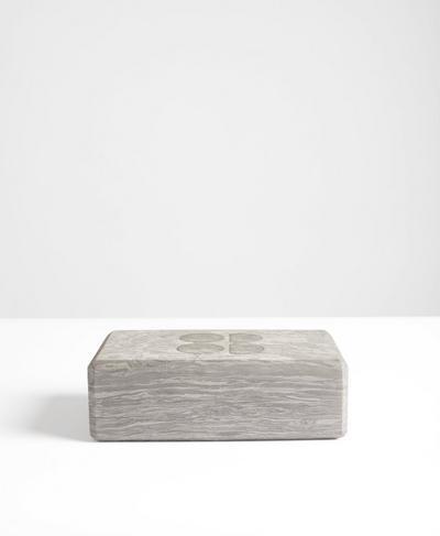 Yoga Brick, Grey | Sweaty Betty