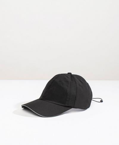 Swiftie Run Cap, Black | Sweaty Betty