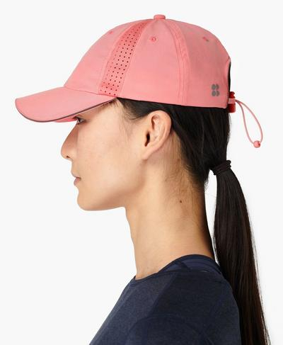Swiftie Run Cap, Calypso Pink | Sweaty Betty