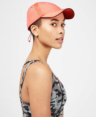 Swiftie Running Cap, Fluro Flash Pink | Sweaty Betty