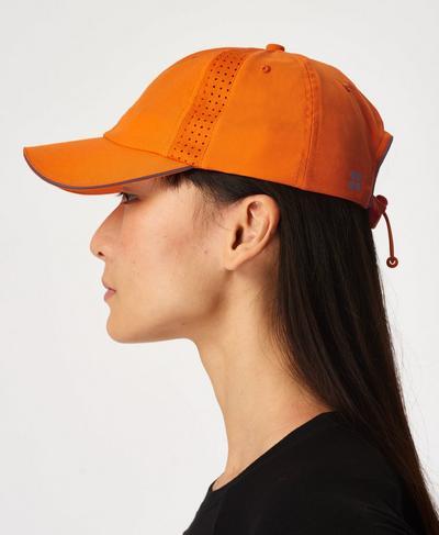 Swiftie Running Cap, Murcott Orange | Sweaty Betty