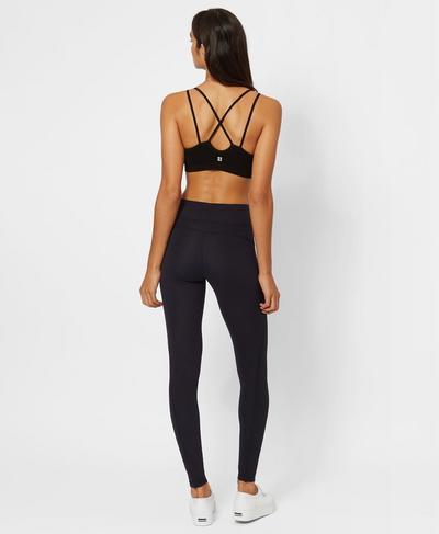 Zen Yoga Leggings, Black | Sweaty Betty