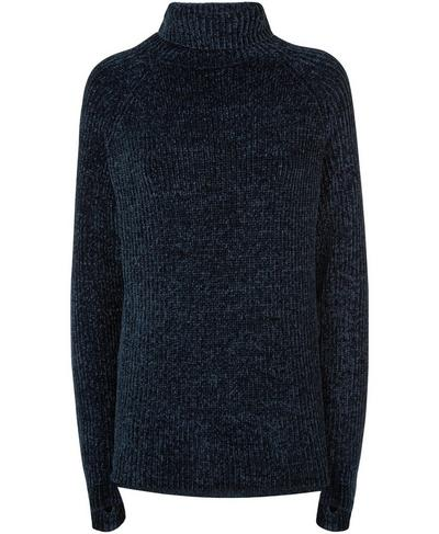 Resto Knitted Sweater, Beetle Blue | Sweaty Betty