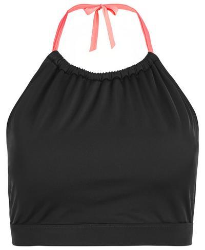 Glo Bikini Top, Black | Sweaty Betty