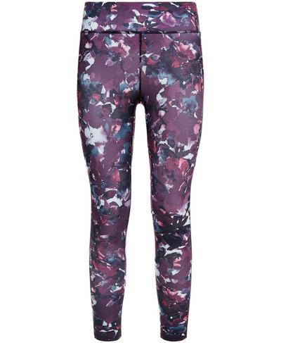 Contour Teen 7/8 Workout Leggings, Nourish Print | Sweaty Betty