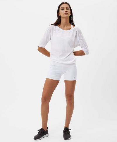 Power Shorts, White | Sweaty Betty