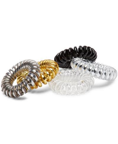 Spiral Hair Toggle 5pk, Metallic Multi | Sweaty Betty
