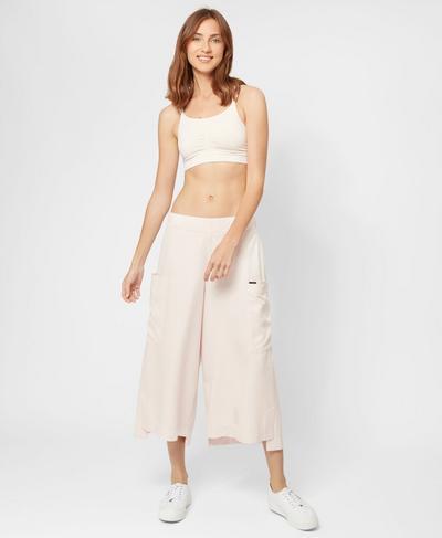 Shizen Cropped Pants, Blossom   Sweaty Betty