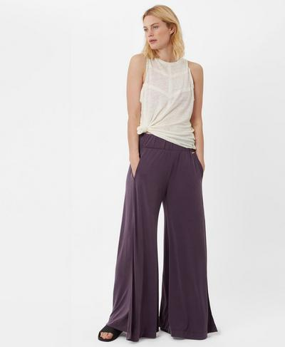 Peaceful Split Pants, Aubergine | Sweaty Betty