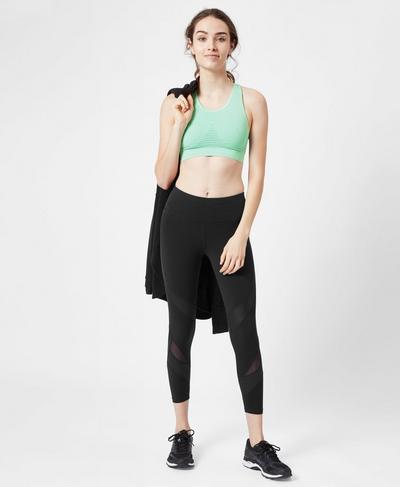 Stamina Workout Bra, Mint | Sweaty Betty