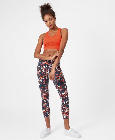 Stamina Workout Bra, Orange | Sweaty Betty
