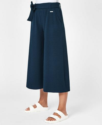 Enso Culottes, Beetle Blue | Sweaty Betty