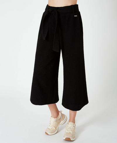 Enso Culottes, Black A | Sweaty Betty
