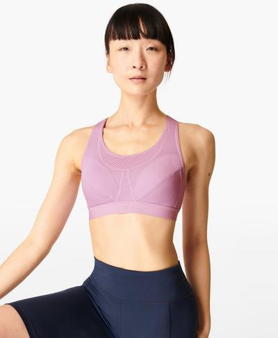 Ultra Run Sports Bra, Aster Purple | Sweaty Betty