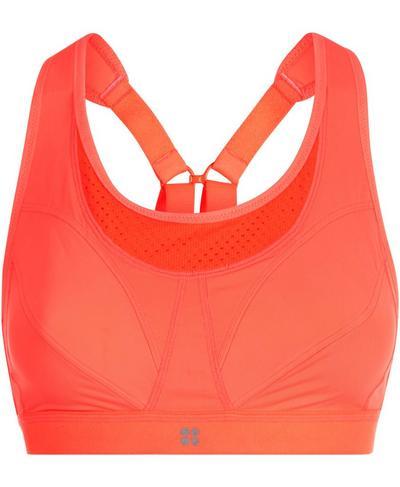 Ultra Run Sports Bra, Fluro Flash | Sweaty Betty