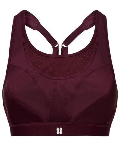 Ultra Run Bra, Oxblood | Sweaty Betty