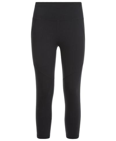 Power Crop Leggings, Black | Sweaty Betty
