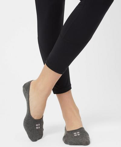 Low Trainer Liners, Castle Rock Marl | Sweaty Betty