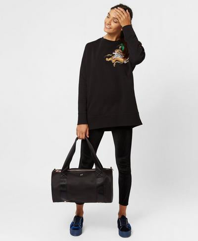 Barre to Bar Gym Bag, Black | Sweaty Betty