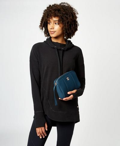 Gym Clutch, Beetle Blue | Sweaty Betty