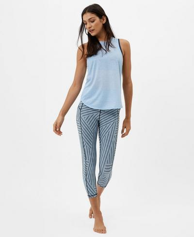 Pacesetter Run Tank, Baby Blue | Sweaty Betty