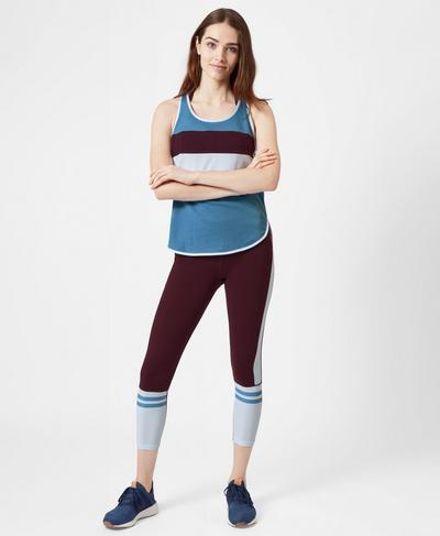 Morgan Workout Tank, Cornflower | Sweaty Betty
