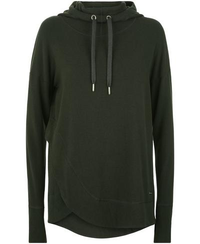 Luxe Invigorate Hoodie, Dark Forest | Sweaty Betty