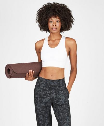 Eco Yoga Mat, Black Cherry | Sweaty Betty