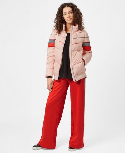 Reggie Puffer Jacket, Liberated Pink | Sweaty Betty