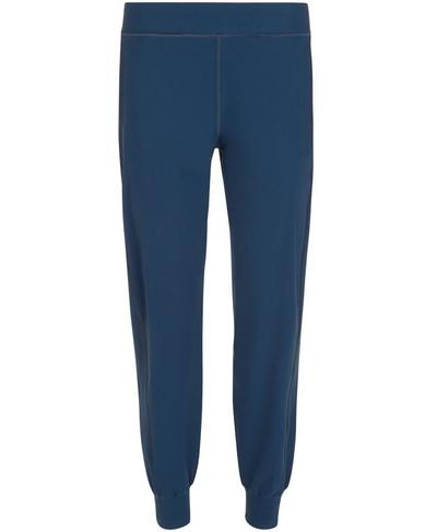Gary Lightweight Yoga Pants, Beetle Blue | Sweaty Betty