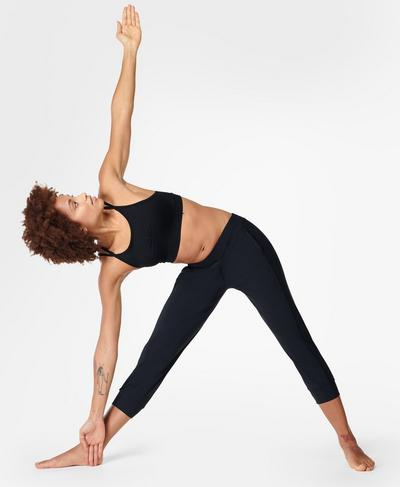 Garudasana Workout Pants, Black | Sweaty Betty