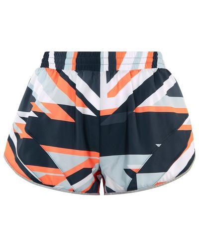 Interval Run Shorts, Washed Navy Union Jack | Sweaty Betty