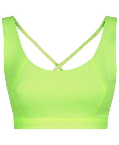 Infinity Workout Bra, Green Alert | Sweaty Betty