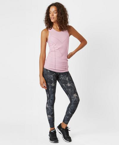 Luxe Athlete Vest, ROSE | Sweaty Betty
