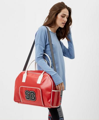 Bowler Bag, Scarlet Red | Sweaty Betty