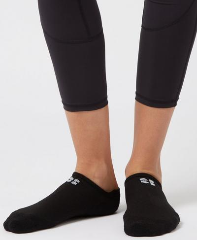 Technical Running Socks, Black | Sweaty Betty