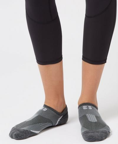 Technical Run Socks, CHARCOAL | Sweaty Betty