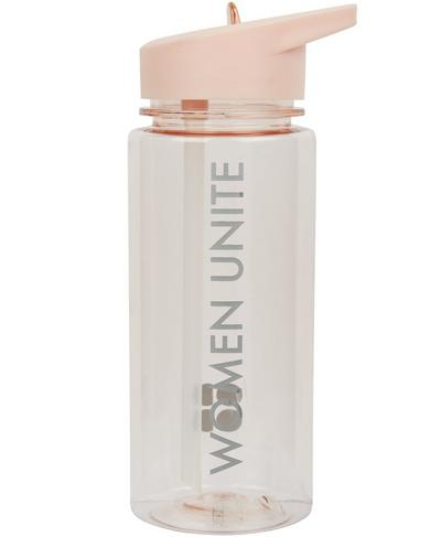Slogan Water Bottle, Liberated Pink | Sweaty Betty