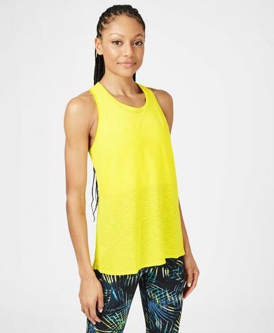 Breeze Running Tank, Canary Yellow | Sweaty Betty