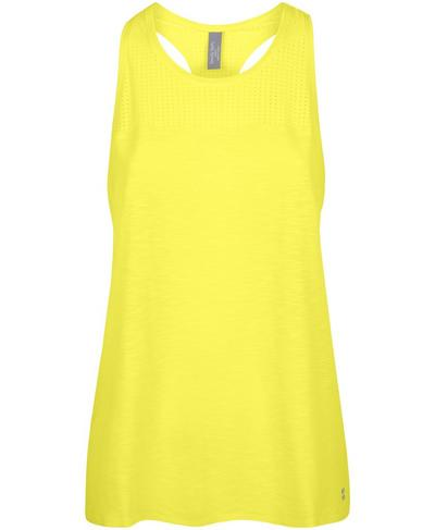 Breeze Running Vest, Canary Yellow | Sweaty Betty