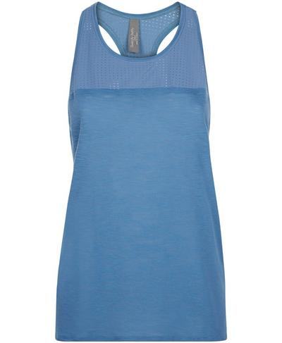 Breeze Running Tank, Stellar Blue | Sweaty Betty