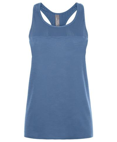 Breeze Run Tank, Washed Navy | Sweaty Betty