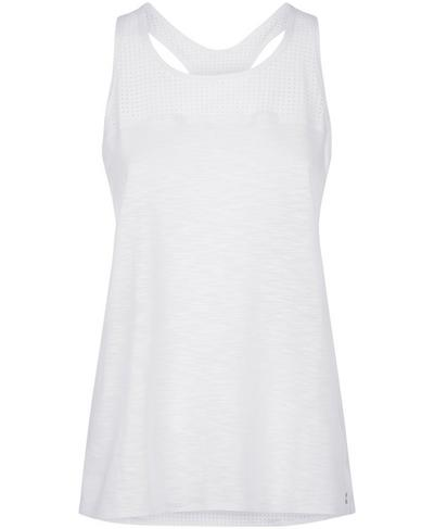 Breeze Running Vest, White | Sweaty Betty