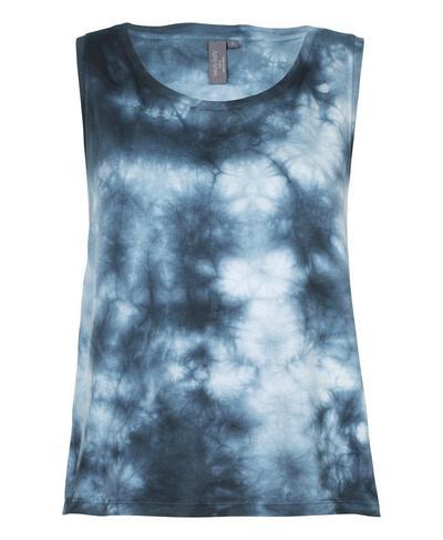 Swing Workout Tank, Beetle Blue Tie Dye | Sweaty Betty